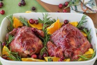 cranberry orange cornish hens