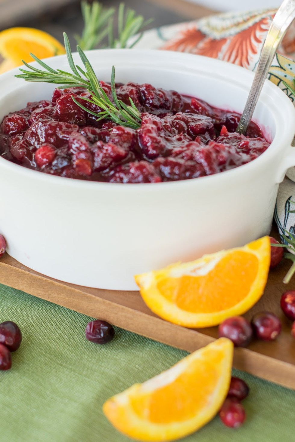 Make Ahead Cranberry Sauce