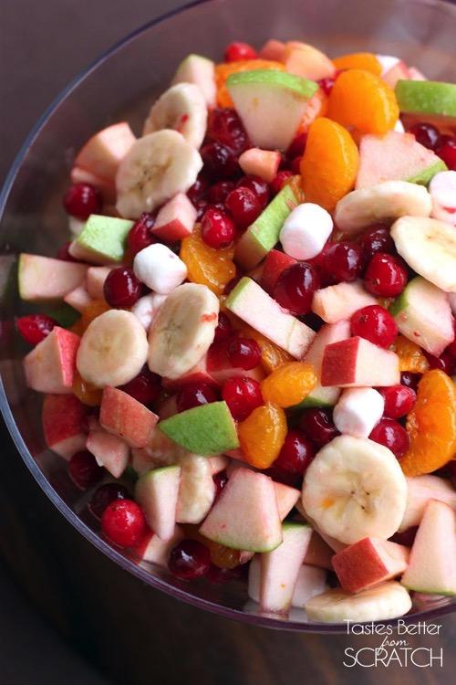 Cranberry Fruit Salad