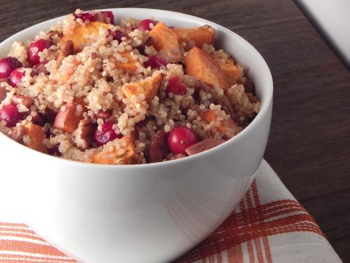 Sweet Potato Cranberry Quinoa