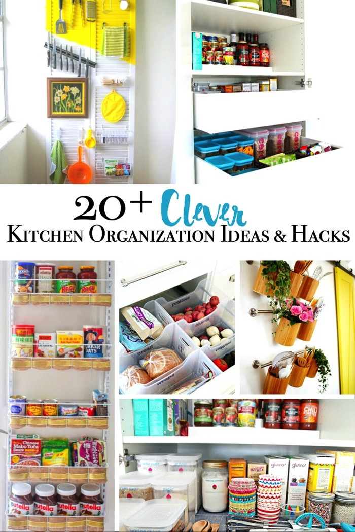 20 Plus Clever Kitchen Organization Ideas And Hacks Major