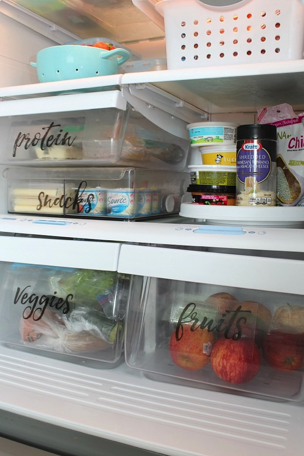Fridge Labels clean and scentsible
