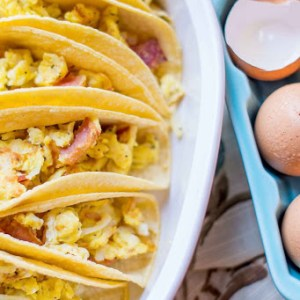 Breakfast Tacos For a Crowd