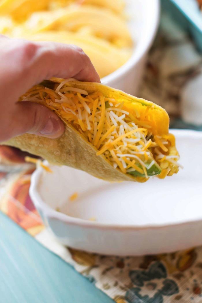 Breakfast Brunch Egg Tacos