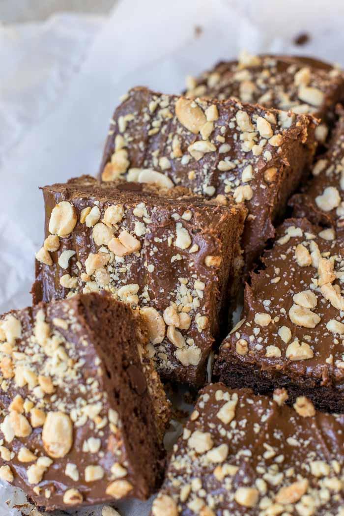 Peanut Butter Pretzel Brownies 4