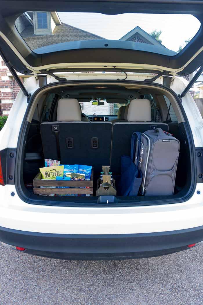 Road Trip Food Basket