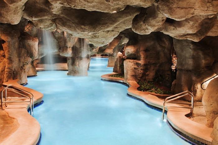 Rocks Under Lagoon Pool at Hyatt Regency Grand Cypress SMALL