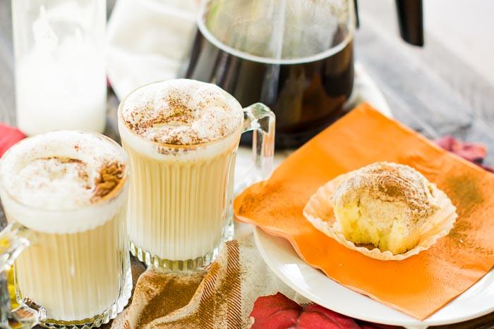 Maple latte vs macchiato coffee drinks for fall