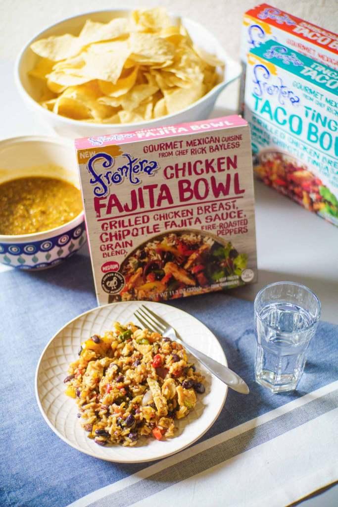 Frontera Chicken Fajita bowl
