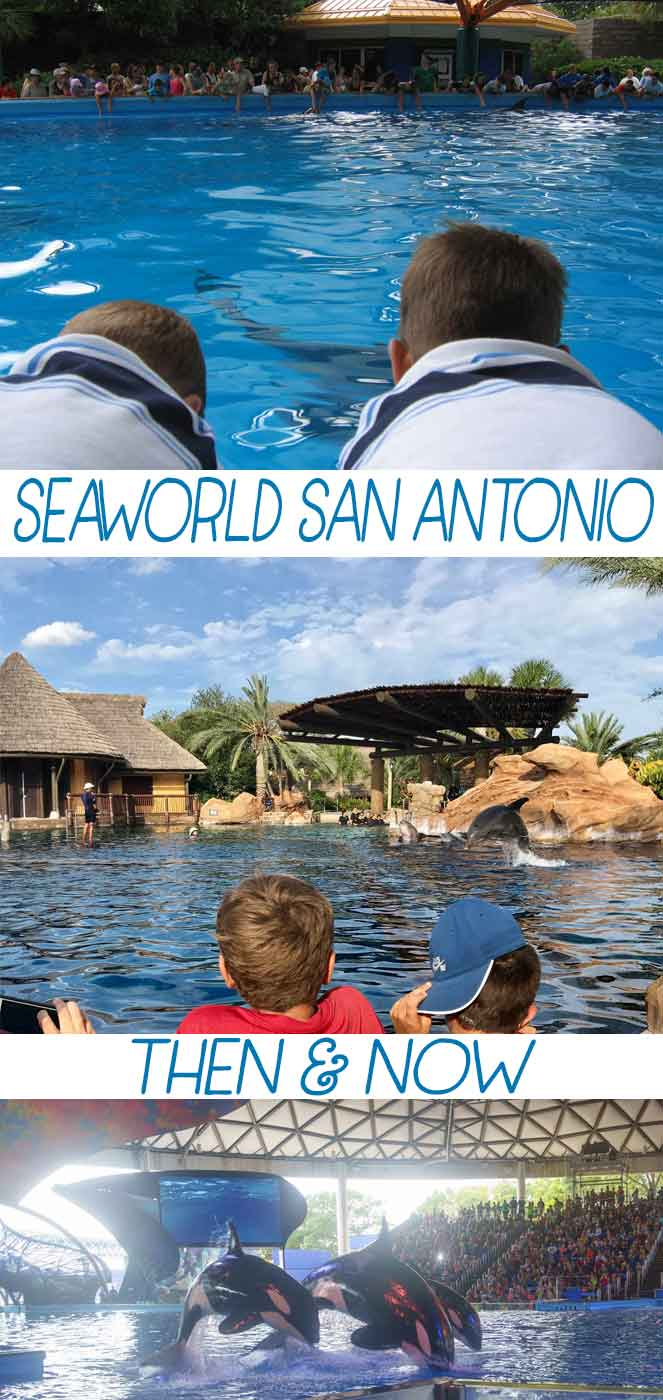 Have you been to SeaWorld San Antonio recently? Come see what major changes were made to the park and Aquatica over the last 10-15 years! From the old log ride, to the new Wave Breaker: The Rescue Coaster. Remember fun times past, and see what's new at the park! #ad @SeaWorld #SeaWorld #SanAntonio #Texas #FamilyVacation #WeekendTrips #RememberWhen #ThemePark via @mrsmajorhoff