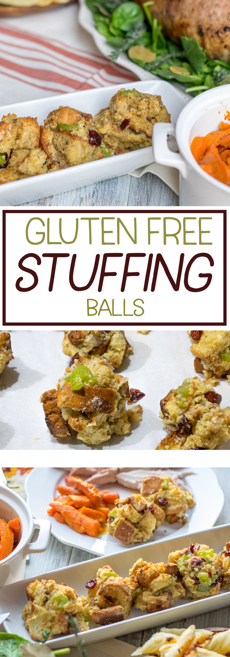 Celebrating a gluten free Thanksgiving? Enjoy gluten free stuffing balls! A traditional recipe with gluten free bread substituted, it's a family favorite! #glutenfree #glutenfreeThanksgiving #Thanksgivingrecipes #stuffing via @mrsmajorhoff