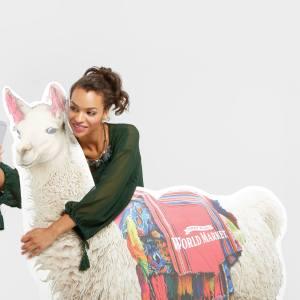 National Llama Day Llama Selfie