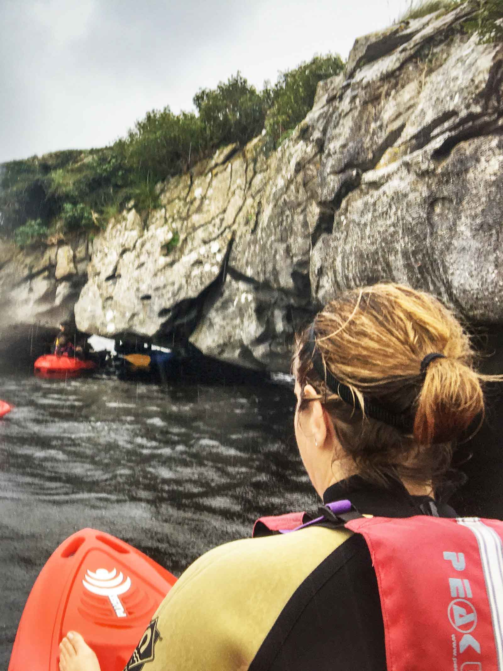 kayaking by the islands in Lough Leane County Kerry