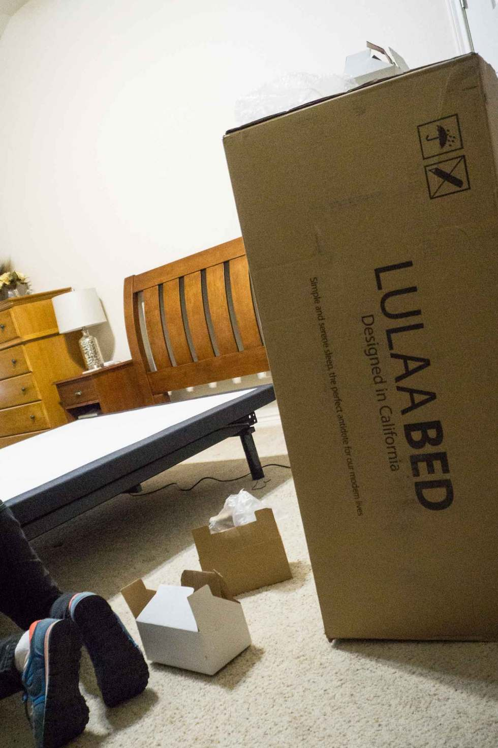 LulaaBED in a box