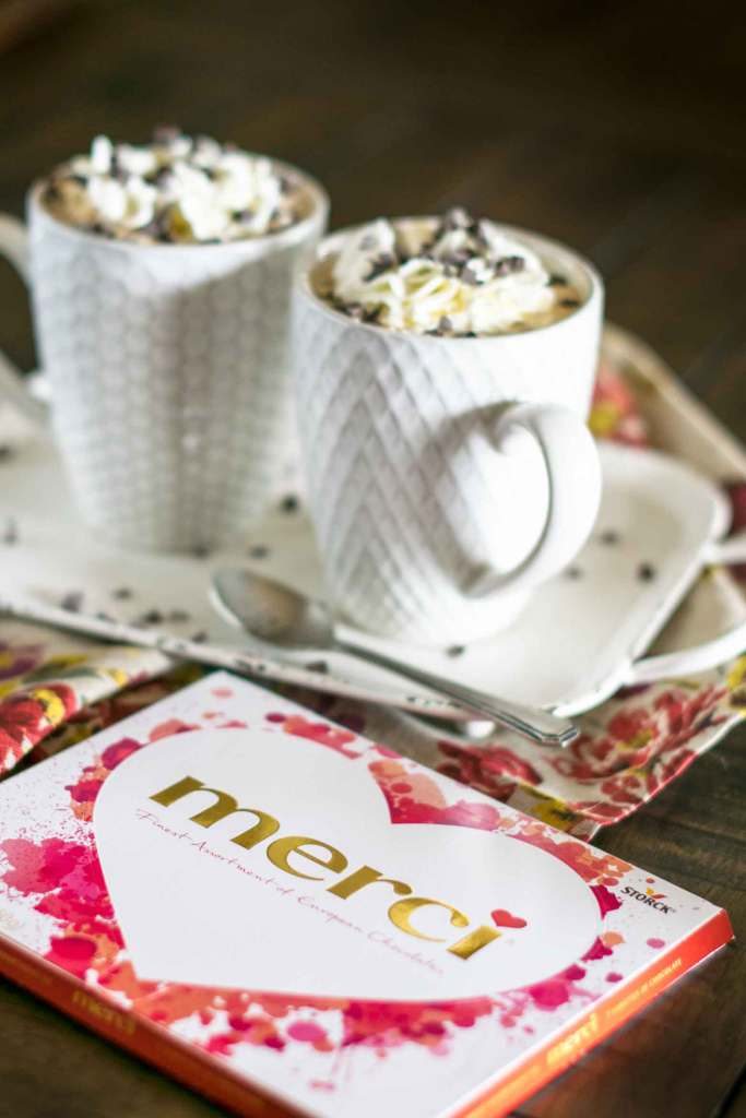 lattes and chocolates for your Valentine