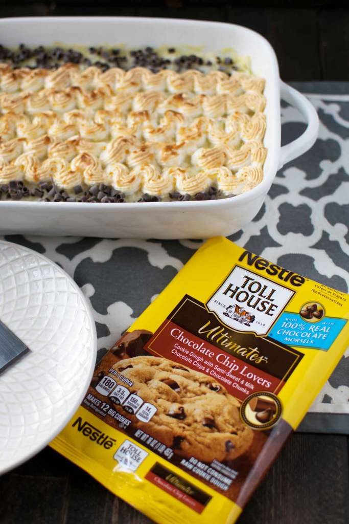 coconut cookie bars using premade cookie dough