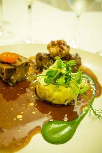 Lamb lunch at Muckross Park Hotel