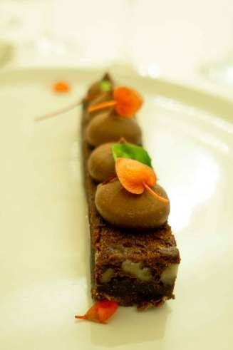 Muckross Park Hotel in Killarney brownie dessert