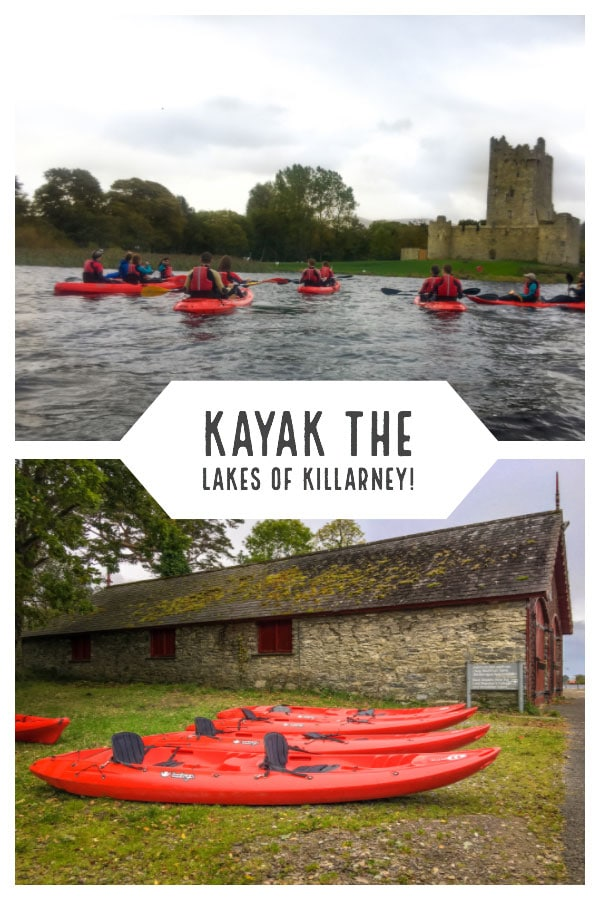 Kayak the lakes of Killarney past Ross Castle and more!