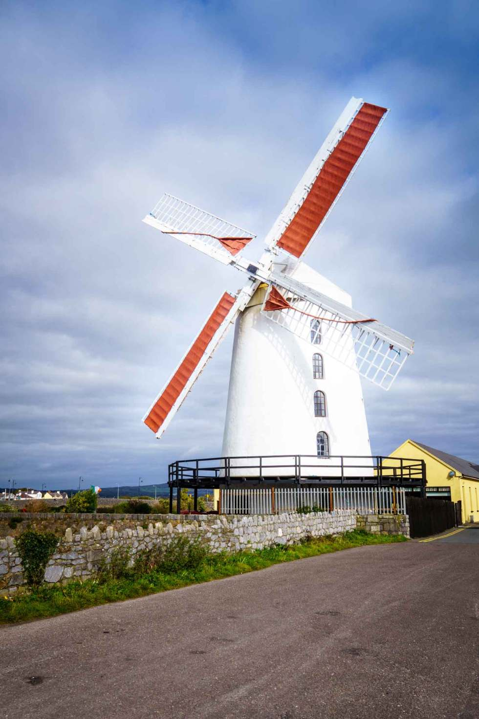 Blennerville Windmill located in the Republic of Ireland in Kerry County is a must see family site