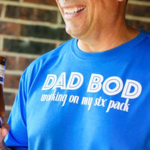 Dad Bod T-shirt for Father's Day