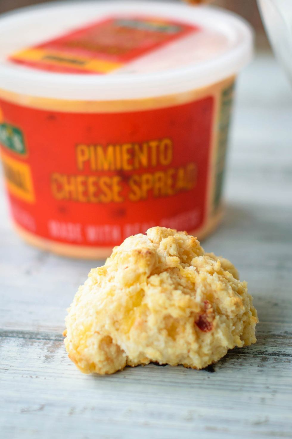 Pimiento cheese makes quick and easy cheese biscuits