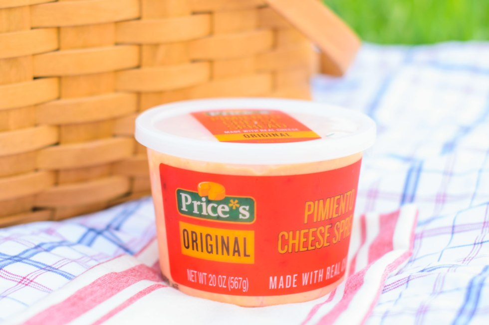 Prices original pimiento cheese spread for a picnic