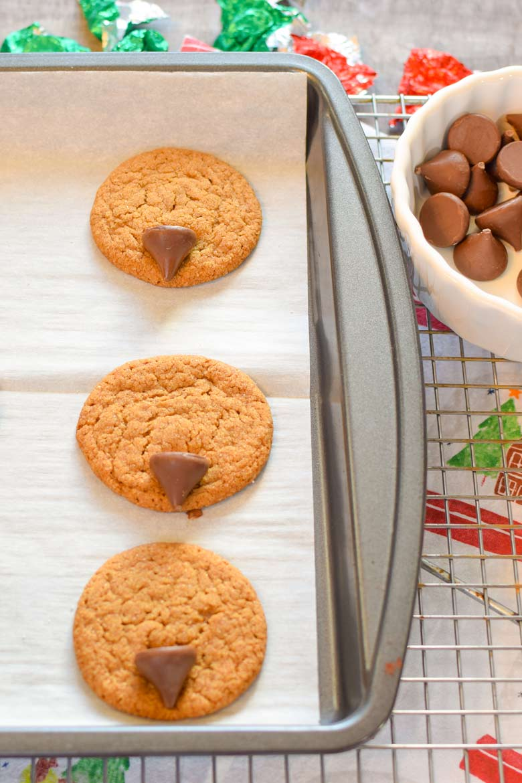 Easy Gingerbread Reindeer Cookies Major Hoff Takes A Wife Family