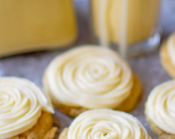 Eggnog Cookies are a favorite holiday treat!