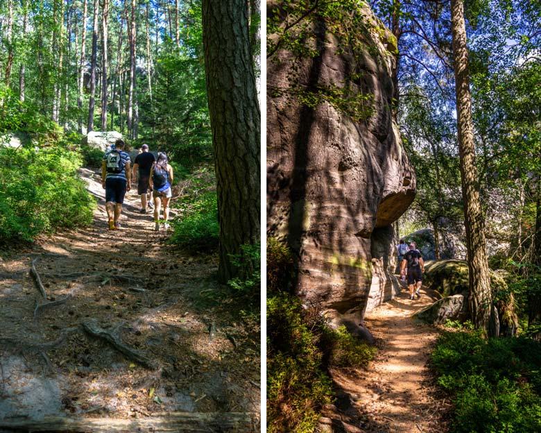 hiking in Czeski Raj