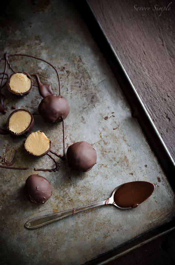cookie butter truffles