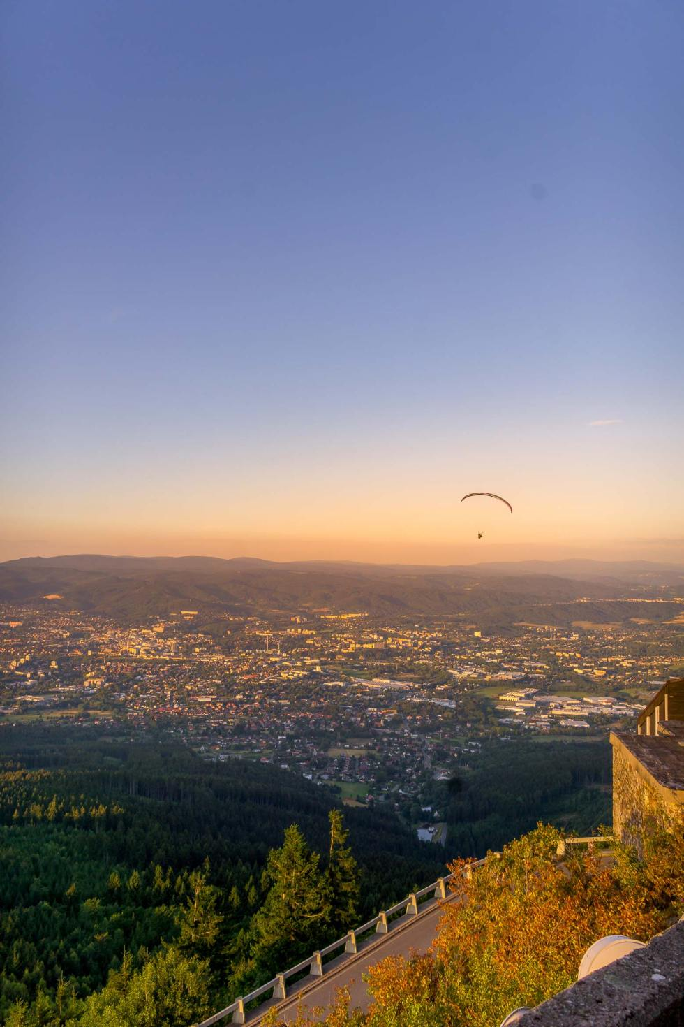 hang gliding in the Czech Republic