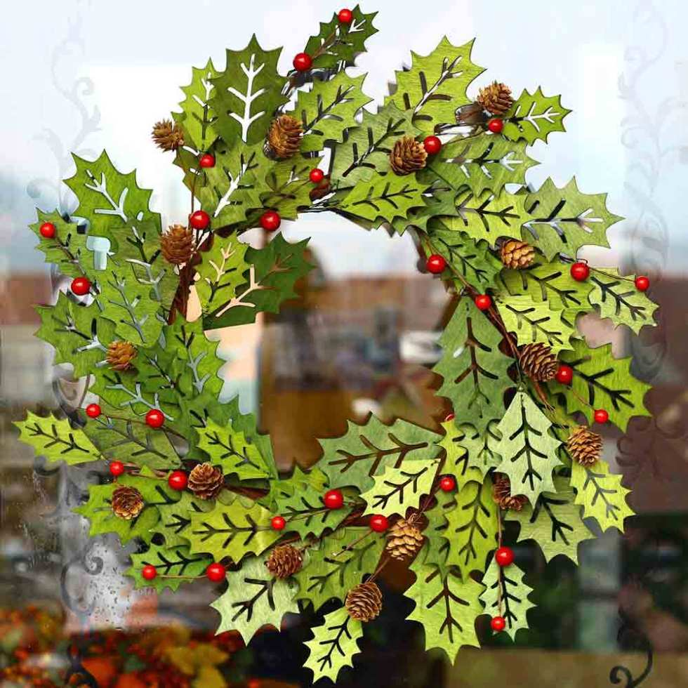 Greenwood Winter Wreath