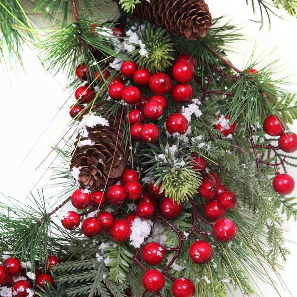 Vickerman wreath on amazon
