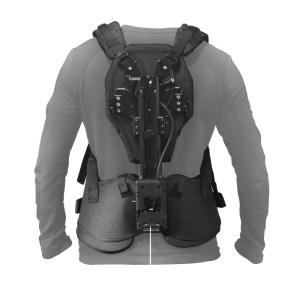 Le dos du Armor Man avec la plaque V-Lock