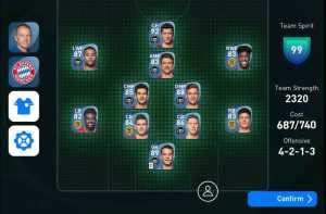 Team Management of Pro Evolution Soccer 2021