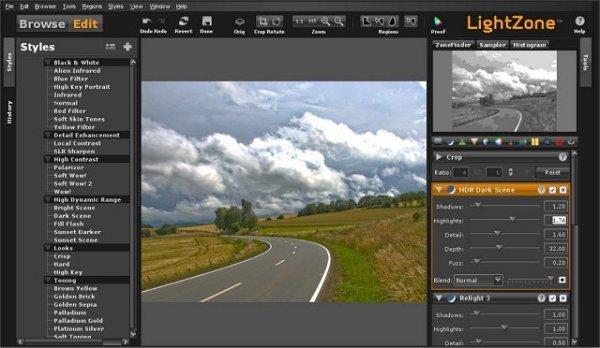 LightZone Will Edit JPEG and RAW Files - MajorGeeks