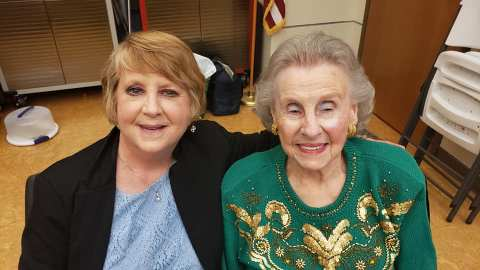 Joanne Rodney and her mother  Joanne Kimsey,