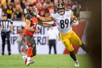 Vance McDonald Douglas DeFelice-USA TODAY Sports