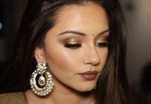 Golden and Bronze Makeup | Diwali Makeup