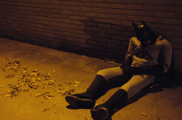 Drunk and Passed Out Batman