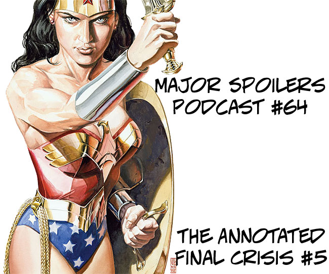 Final Crisis #5 Annotated