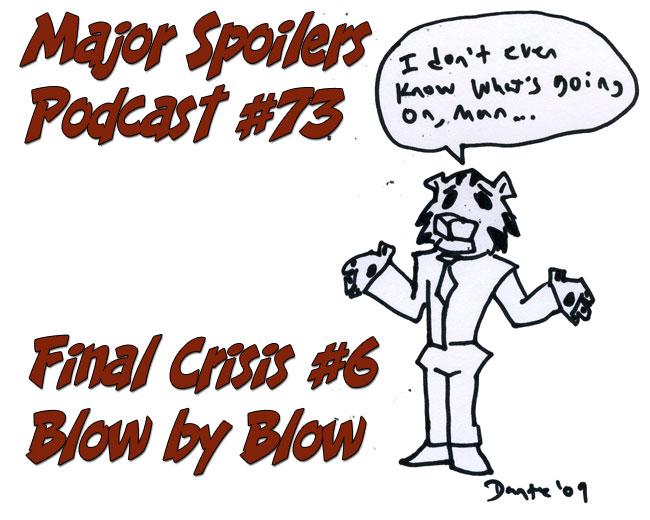 Final Crisis #6 Blow by Blow