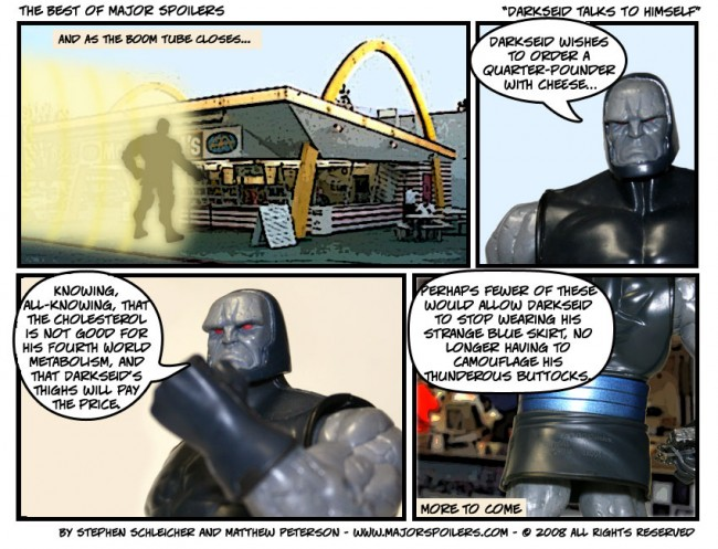 Darkseid Talks to Himself