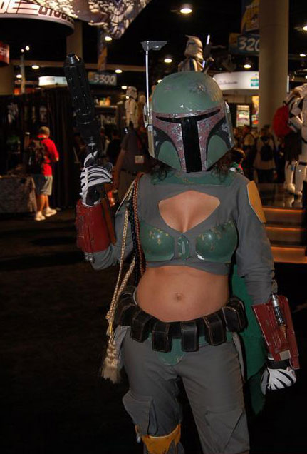 sexy boba fett cosplay is sexy � major spoilers�comic book