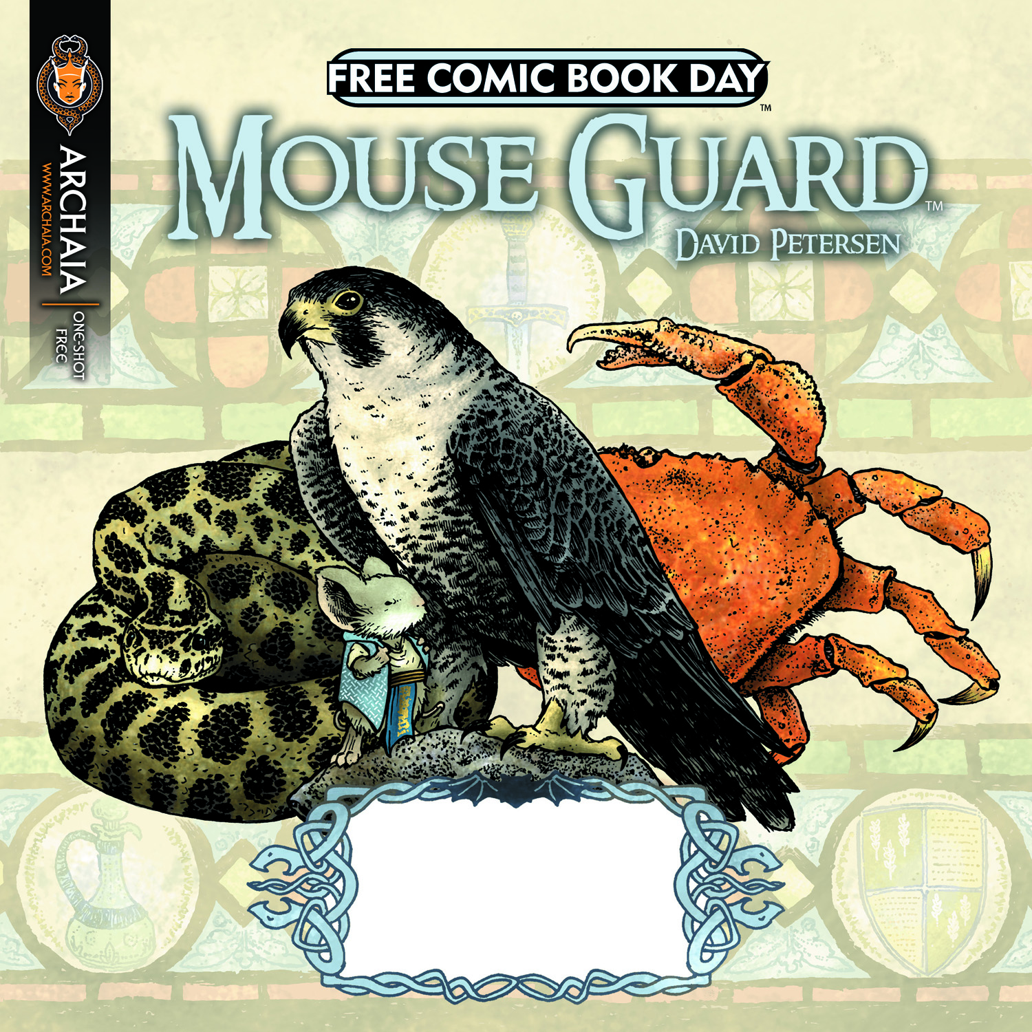 Is Free Comic Book Day Worth It Reddit: FREE COMIC BOOK DAY: Archaia Shows Off Mouse Guard/The