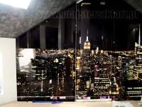 Podświetlany panel szklany