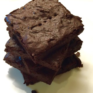Healthy Secret Ingredient Brownies