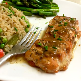 Balsamic Maple Dijon Salmon