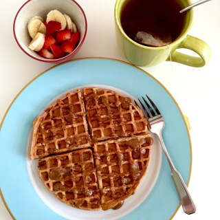 Fluffy Whole Grain Waffles